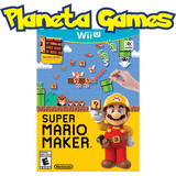 Juego Super Mario Maker Nintendo Wii U Fisicos Cerrados