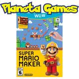 Super Mario Maker Nintendo Wii U Fisicos Caja Cerrada