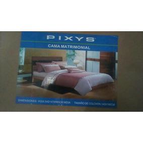 Cama Matrimonial Pixys Nueva