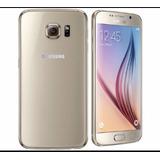 Samsung S6 Flat / Gold Como Nuevo Libre Con Garantia
