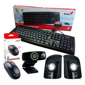 Combo Teclado+mouse+web Cam+parlante Genius