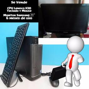 Computadora Con Monitor