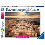 Puzzle 1000pz Rome - Ravensburger Highlights 140824
