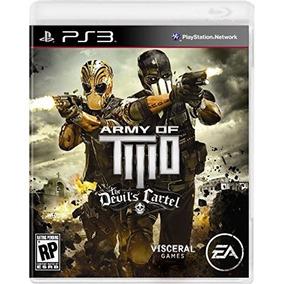 Army Of Two El Cártel Del Diablo - Playstation 3