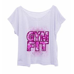 Blusa Feminina Estampada Plus Size Camuflada Gym Fit Pink