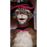 Antiguotítere Gato Con Bota Gran Tamaño Colección Juguetes