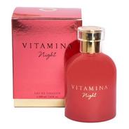 Perfume Vitamina Night Mujer X 100ml Original