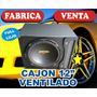 Cajon. Ventilado 12 Fulllujo. En 2 Colores. Y Logo