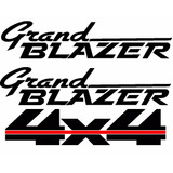 Calcomania Chevrolet Grand Blazer 4x4