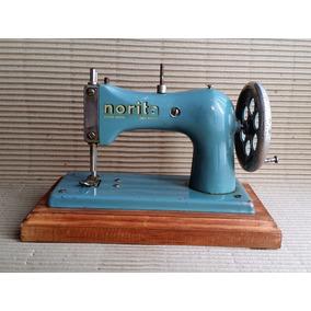Maquina De Coser De Juguete Norita Años 1957 Ind. Argentina