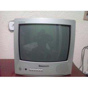 Tv 14 Polegadas De Tubo Panasonic - Funcionando