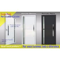 Porta Lambril Vision 2,10 X 0,90 Alumínio Preto