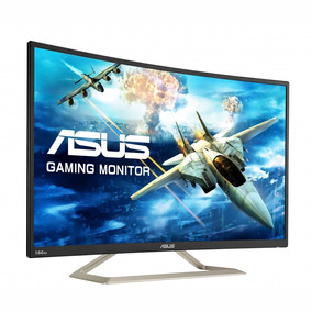 Monitor Gamer Curvo Asus Va326h Led 31.5 Fhd 144hz Bocinas