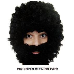 Peruca Mendigo Homem Das Cavernas Fantasia