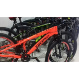 Bicicleta Gios Freeride Laranja Neon Aros Vmaxx Freio A Disc