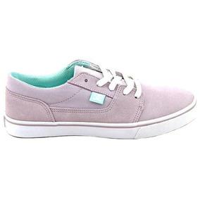 Tenis De Piel Skateboarding Tonik Mujer Dc Shoes Dc070
