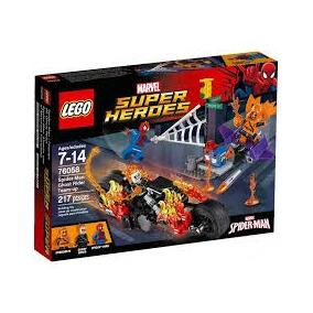 Lego® Super Heroes Spider-man El Motorista Fantasma (76058)