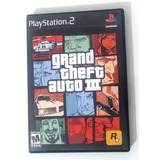 Grand Theft Auto Gta 3 Ps2 Completo Incluye Poster Usado