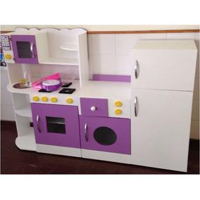 Juegos De Cocina Infantiles | Cocina De Juguete Muebles Infantiles Rincon Casita Y Jardin