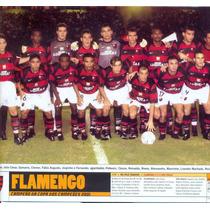 Pôster Da Placar: Flamengo + Comercial Mato Grosso Do Sul
