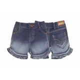 Bermuda Feminino Jeans - Zig Mundi - Tamanho P, 1
