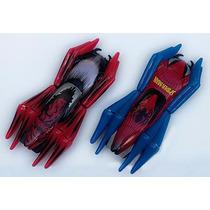 Kit 2 Carros De Autorama Spider Man Carrera Go Estrela Scx