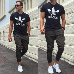 Joggers Pantalones Monos Tubito Slim Fit Skinny De Hombre