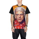 Camiseta Doc Brown Christopher Lloyd Back To The Future Mt