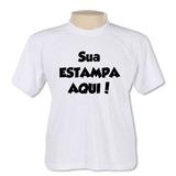 Camiseta Personalizada C/ Logo Foto Texto Qualquer Imagem A3