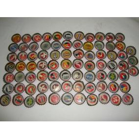 Coleção 75 Tampinhas Antigas De Coca Cola Olimpíadas 2012