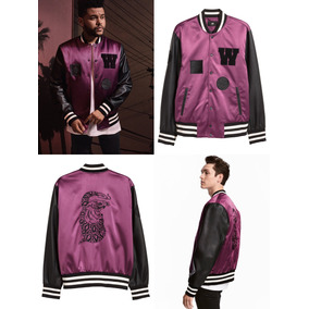 Bomber H&m Xo The Weeknd Originales Envio Gratis
