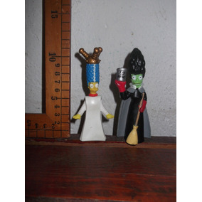 Burger King Marge Simpson Figuras Promocionales 2001 2003