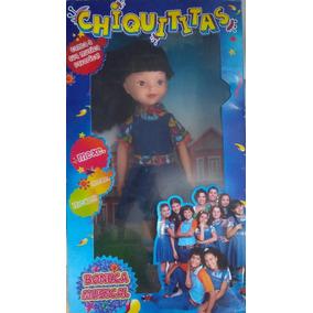 Boneca Chiquititas Cris Canta Mexe Mexe Mexe Selo Imetro