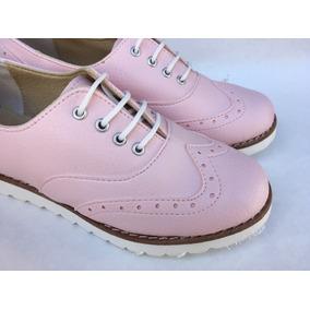 Zapato Con Coordones Base De Goma