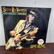 Vinil Lp Stevie Ray Vaughan And Double Trouble Live Alive