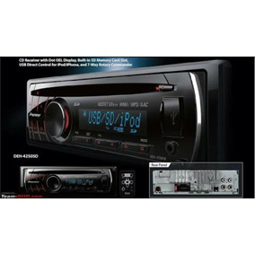 Toca Cd Player Pioneer Deh-4250sd Mp3 Cd Aux Usb Iphone Ipod