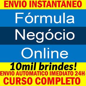 Fórmula De Negócio Online - Alex Vargas +10mil Brindes!