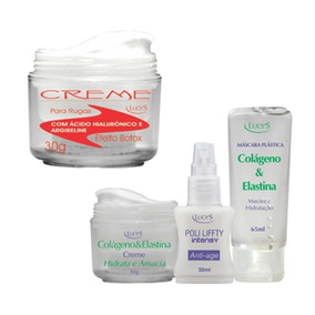 Kit Creme Facial Botox Com Kit Colágeno Para O Rosto