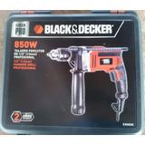 Potente Percutor Black And Deker 850 Watts