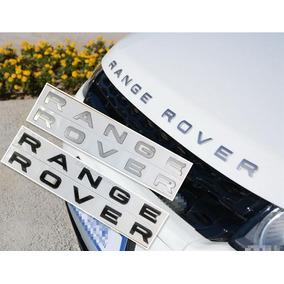 Emblema Letras Range Rover Evoque Frente Ou Traseira