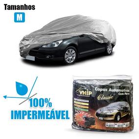 Capa Cobrir Carro Prisma Proteção Uv Forrada Impermeavel