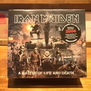 Iron Maiden Matter Of Life & Death Edicion Cd + Muñeco