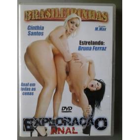 Dvd Pornô Original ` Exploração Anal ´ ( Da Brasileirinhas )