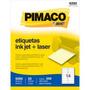 Etiqueta Ink-jet/laser 33,9x101,6 Pimaco 6282