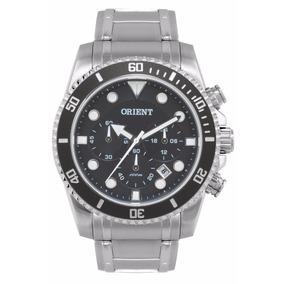 Relógio Orient Masculino Cronografo Mbssc101 G1sx Grafite