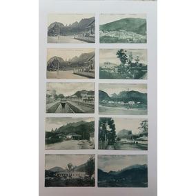 Cartões Postais Antigos Rio De Janeiro - Teresopolis Lote 1
