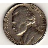 Moneda De Cinco Centavos Ceca D De Usa