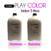 Shampoo 5 L+ Balsamo 5 L Plasma Love Color!! Super Promo!!