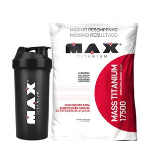 Mass 17500 - 1,4kg - Max Titanium - Baunilha + Coque