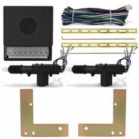 Kit Trava Elétrica + Suporte Uno Fire 2 Portas
